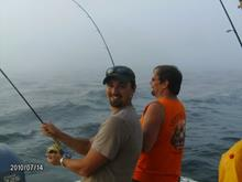 We specializes in light tackle, spin fishing and fly fishing for bass, tuna & blues.