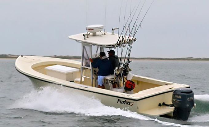 22' Parker Charter Fishing